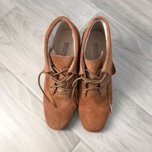 Michael Kors Lace Up Booties